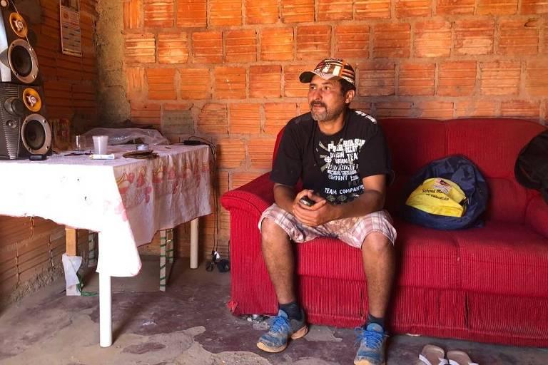 O pedreiro Eraldo Fábio Rodrigues de Oliveira, casado com uma sobrinha do autor do ataque a Jair Bolsonaro, Adelio Bispo de Oliveira