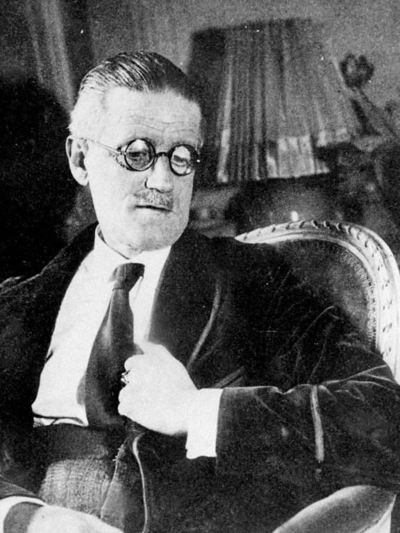 O escritor irlandês James Joyce, que lançou 'Finnegans Wake' em 1939