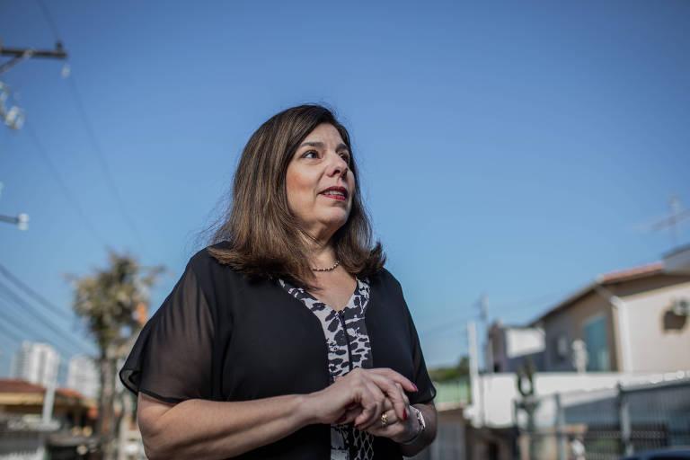 A pedagoga Silvia Gasparian Colello em São Paulo