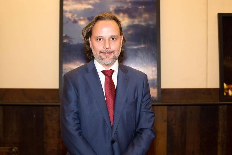 O advogado Marco Aurélio de Carvalho, em jantar em homenagem ao ministro do STF Ricardo Lewandowski, em São Paulo