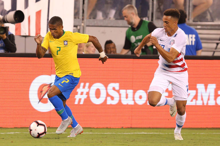 Seleção brasileira x EUA