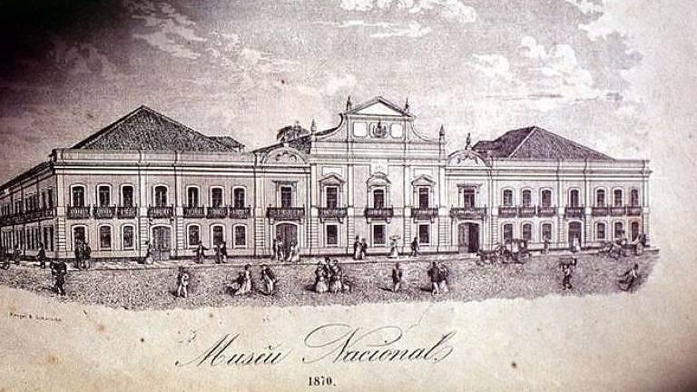 Serrão foi diretor do Museu Nacional de 1828 a 1847