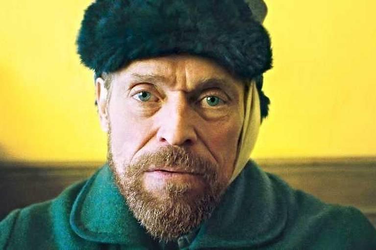 Indicado ao Oscar de melhor ator, Willem Dafoe como Van Gogh em 'No Portal da Eternidade'