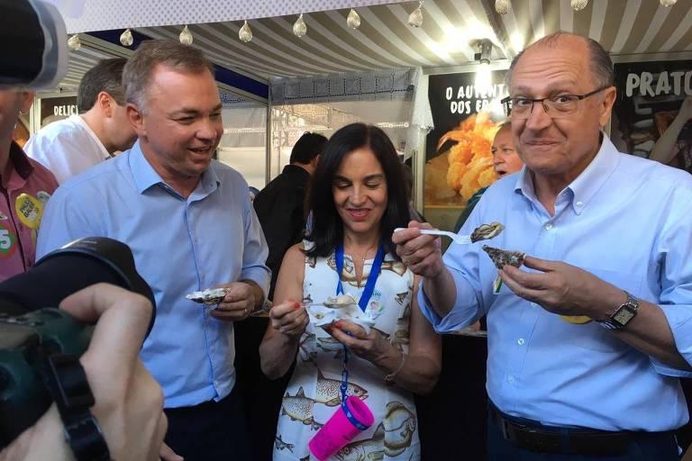 Alckmin visita feira em Florianópolis