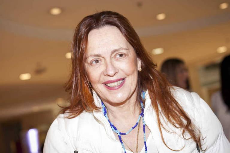 A atriz Maria Zilda Bethlem