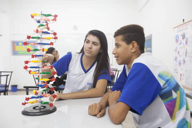 Escola Viva, colégio integral modelo do governo do Espírito Santo