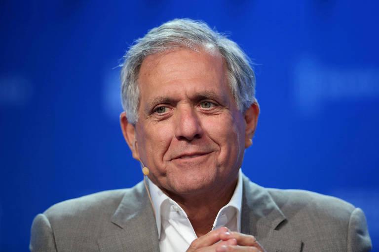 Leslie Moonves, agora ex-presidente da CBS