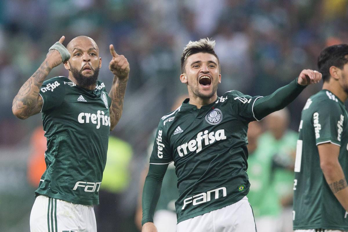 Palmeiras fica a uma vitória de superar campanha campeã - 10 09 2018 -  Esporte - Folha 260e0aeef427a