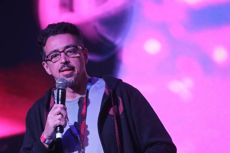 O ministro da Cultura, Sérgio Sá Leitão, participa da Game XP