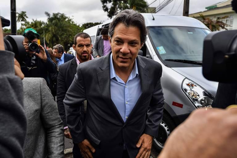 Fernando Haddad deve ser oficializado pelo PT como candidato do partido à Presidência nesta terça (11)