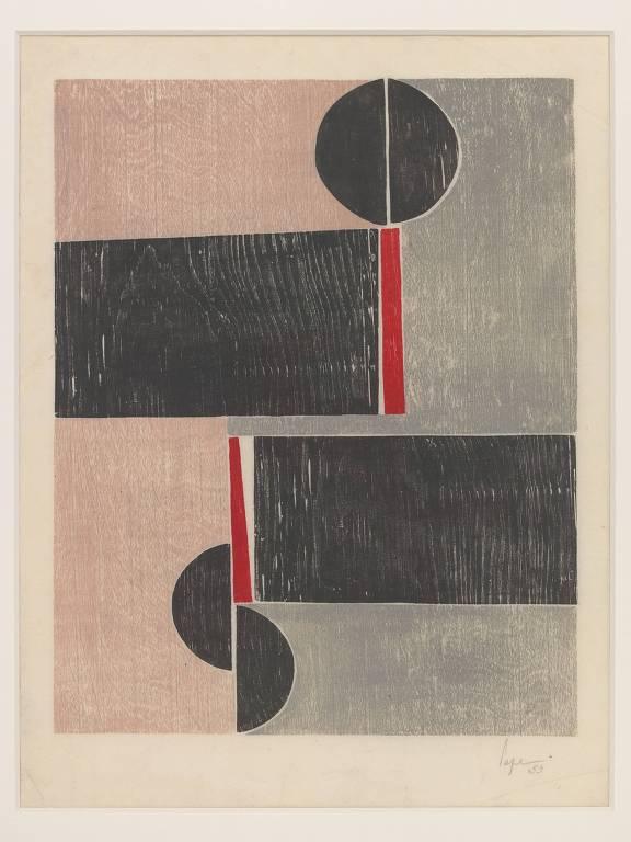 Obra 'Tecelar' (1953) de Lygia Pape