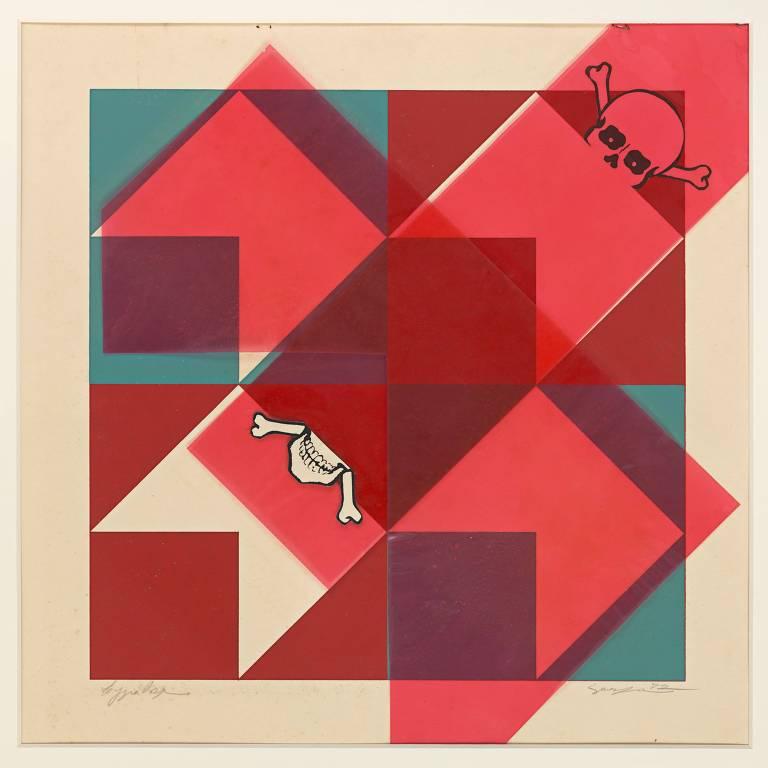 Obra de Lygia Pape de 1972