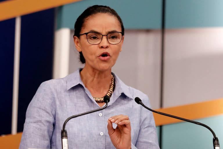 Marina Silva (Rede), candidata à Presidência da República