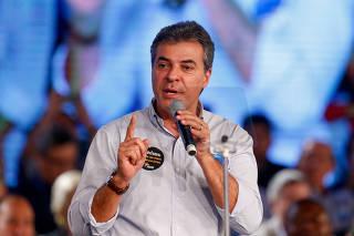 Beto Richa na convenção do PSDB em Brasília