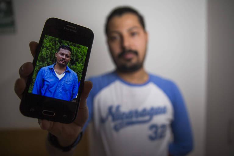 Ortega persegue famílias de mortos, diz nicaraguense que perdeu irmão