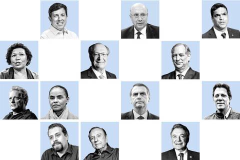 Reunião entre candidatos de centro fracassa em São Paulo