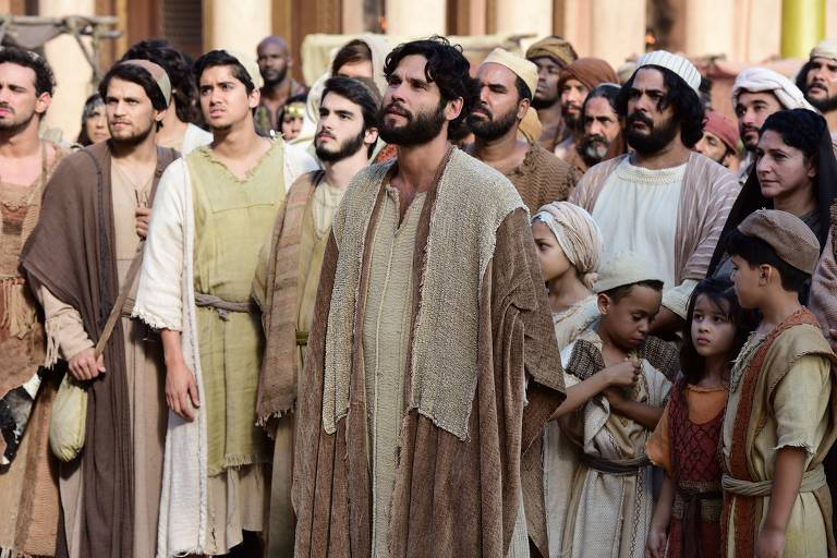 Caifás manda prender Messias com apoio de Anás