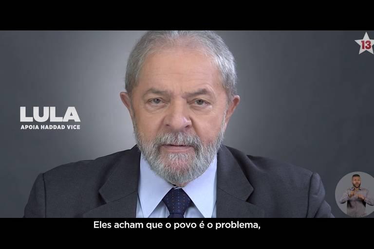 Imagem exibida no programa eleitoral do PT no dia 6/9
