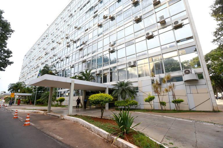 Fachada do ministério do Planejamento, em Brasília