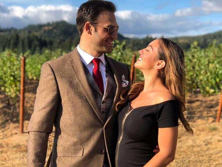 Chrysti Ane Lopes e o ator Ryan Guzman