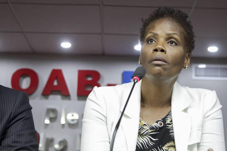 A advogada Valéria dos Santos