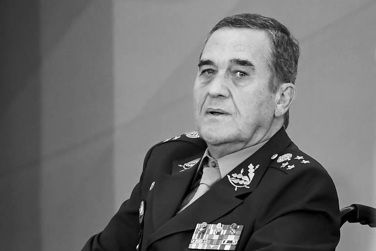O comandante do Exército, general Eduardo Villas Bôas, em cerimônia no Palácio do Planalto, em abril deste ano