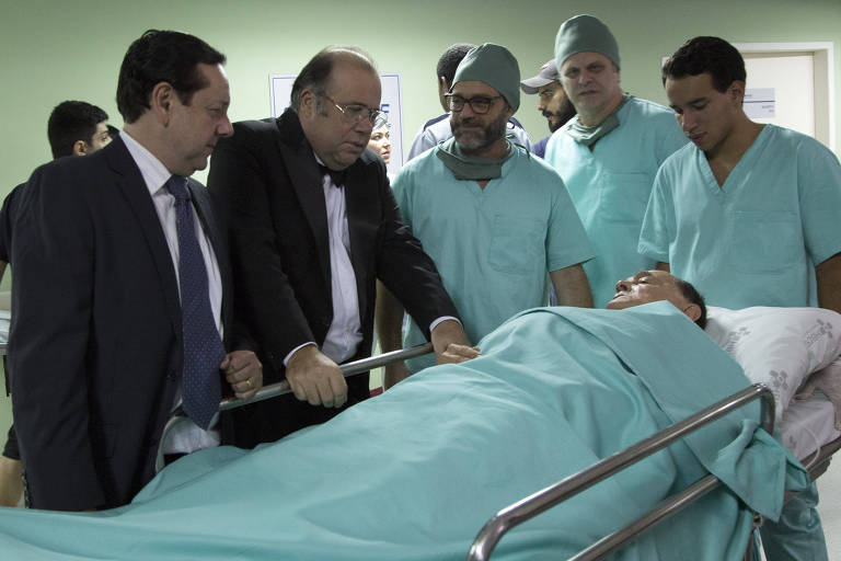 Cenas do filme 'O Paciente'