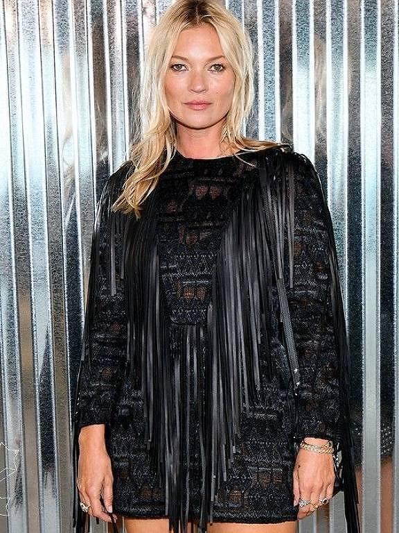 Imagens da modelo Kate Moss