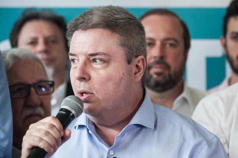 O candidato Antonio Anastasia (PSDB), que lidera a disputa pelo governo de Minas Gerais