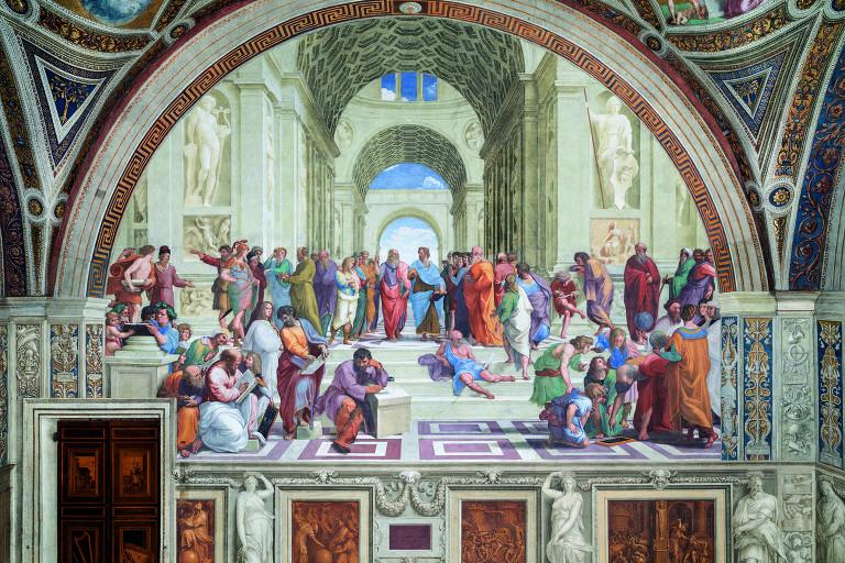 """""""Escola de Atenas"""", de Rafael"""