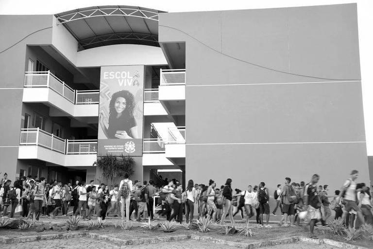 Escola em Vitória considerada modelo pelo governo do Espírito Santo