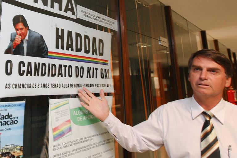 A trajetória de Jair Bolsonaro