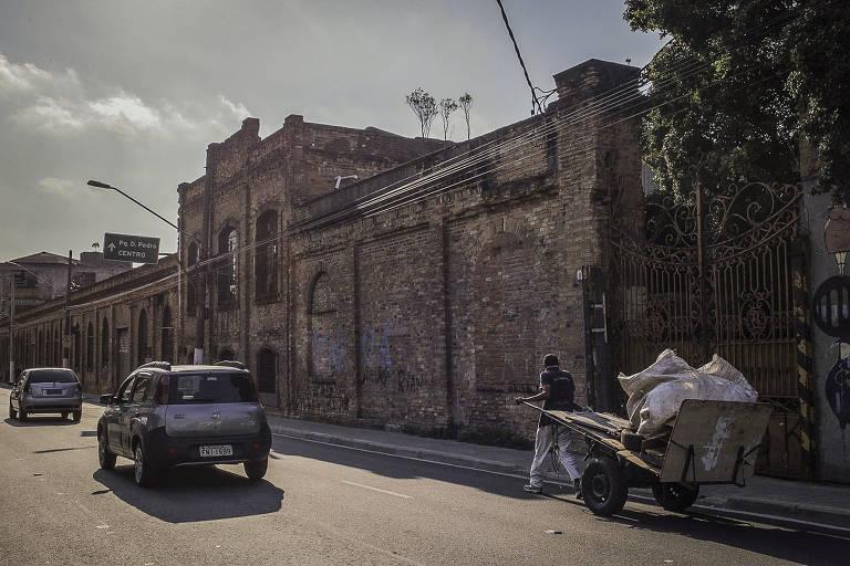 Ocupação na rua da Mooca