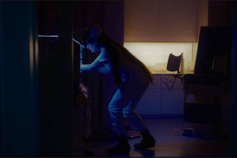 Juliette Binoche em cena do filme High Life, de Claire Denis