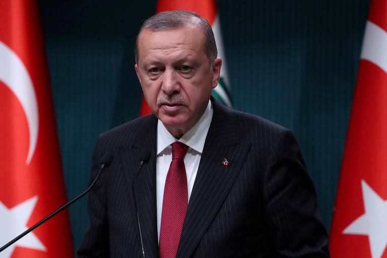 Tayyip Erdogan, presidente da Turquia