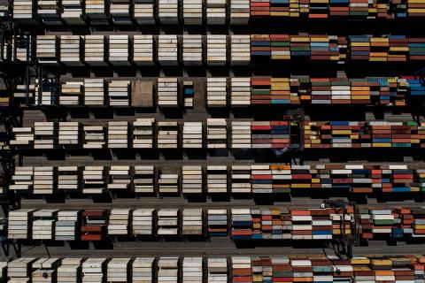 SÃO PAULO, SP, BRASIL, 06-09-2018: Terminal de Contêineres Paranaguá (TCP), em Paranaguá, no estado do Paraná. (Foto: Eduardo Anizelli/ Folhapress, FSP-SUPLEMENTOS-ESPECIAIS) ***EXCLUSIVO***