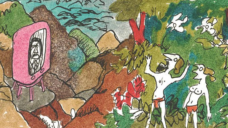 Desenho de 1973 de Millôr Fernandes