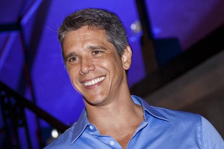 O apresentador Márcio Garcia