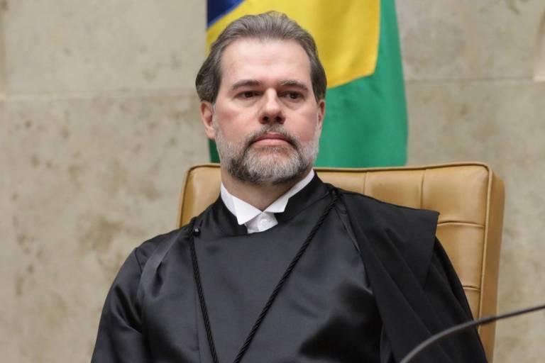O ministro do Supremo Tribunal Federal (STF) Dias Toffoli tomou posse como presidente da Corte