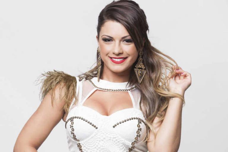 A modelo e ex-panicat Babi Rossi