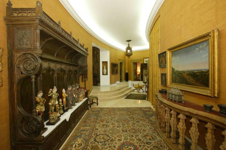 Casa com os pertences da milionária Ema Gordon Klabin que agora é um museu aberto à visitação. A Fundação Ema Klabin também está na Primavera dos Museus