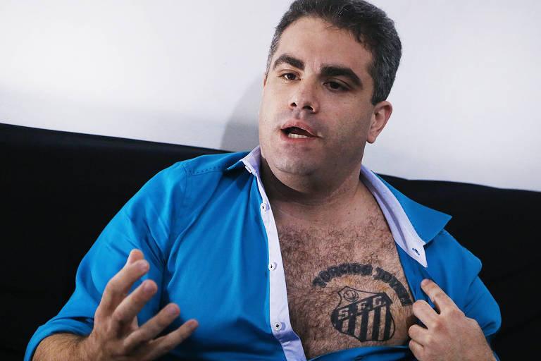 Ex-membro de organizada, Orlando Rollo acionou torcedores do Santos na Justiça por ofensas nas redes sociais
