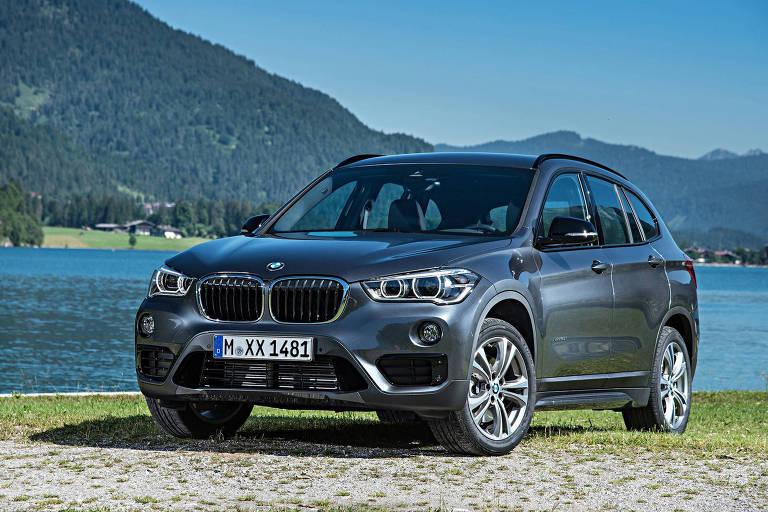 Nova geração do BMW X1, que será produzida no Brasil