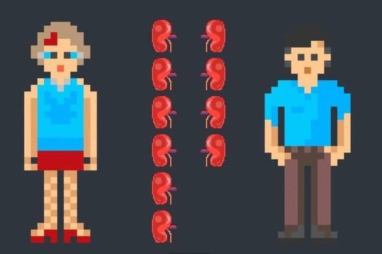 Desenho indica que mulheres doam mais órgãos que homens