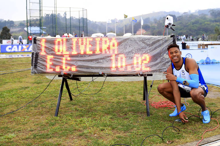 Paulo André de Oliveira - atletismo