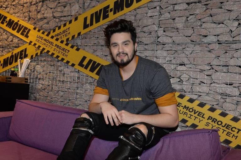 Luan Santana - Coletiva de Imprensa/Projeto LIVE MÓVEL gravado em algumas cidades em formato surpresa e finalizado em São Paulo