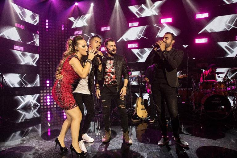Raffa Augusto grava DVD em Guarulhos