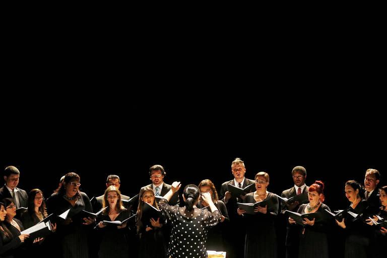 Apresentação do Coro da Osesp em 2014