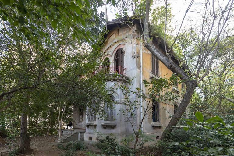 Casa da r. Marquês de Paranaguá