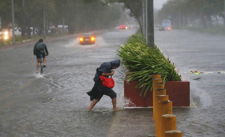 Tufão Mangkhut atinge as Filipinas